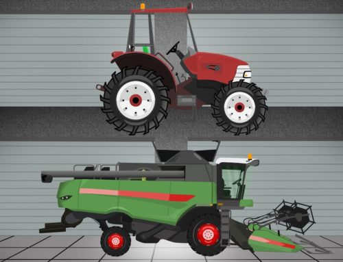 ☻ Tractor | The Tale of Tractors | Garage of agricultural #machinery | Bajki Traktorach ☻