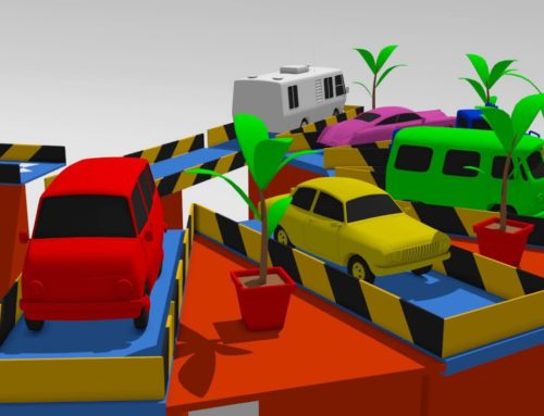 Colors for Children to Learn With Car Parking – Learn Colors with Cars | Kolorowe Auta Toys