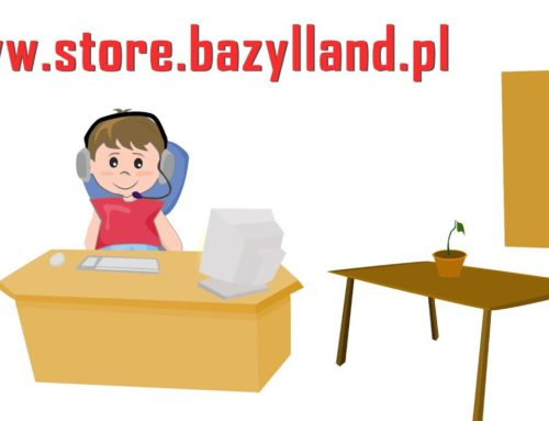 The premiere of Store Bazylland :) Fairy Tale Shop, Excavators, tractors and other | Sklep z Bajkami
