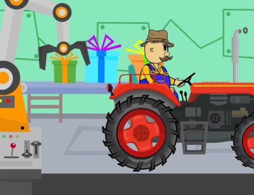 Christmas Factory for Children Story | Gifts for Farmers | Fabryka Prezentów | Bajka