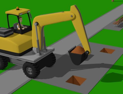 Wheeled Excavator and mini Excavator – preparations for the New Year | Street Vehicles – Maszyny