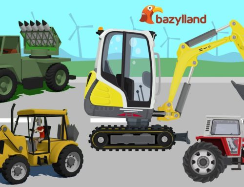 Road vehicles & Agricultural machinery & Construction vehicles – Happy New Year wishes you Bazylland