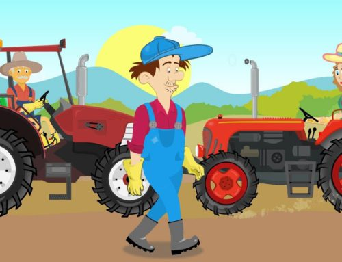 Farmers' adventures – Fairy tales Tractors, combine harvesters and other agricultural machinery .