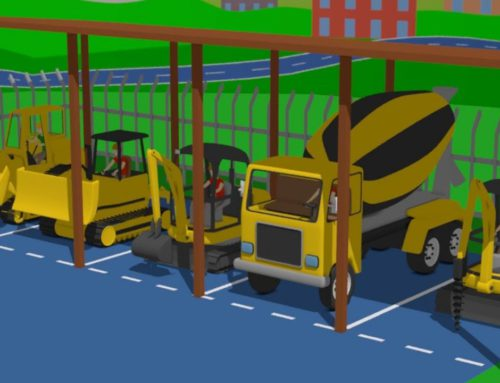 Road vehicles for children, i e  Mini Excavator, Bulldozer and Truck – Construction of the Workshop