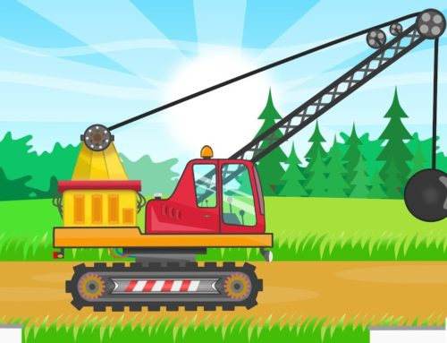 Demolition Crane – Machine for special tasks | Video for Kids