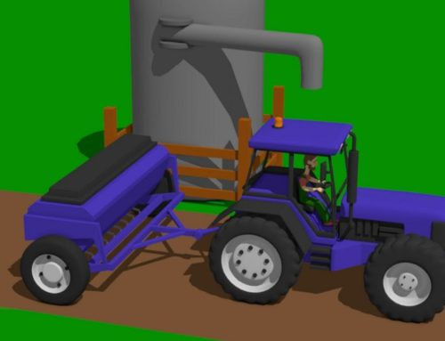 Combine Harvester and Mini Excavator with mixed cabins – Fairy tale about Vehicles and their Destiny