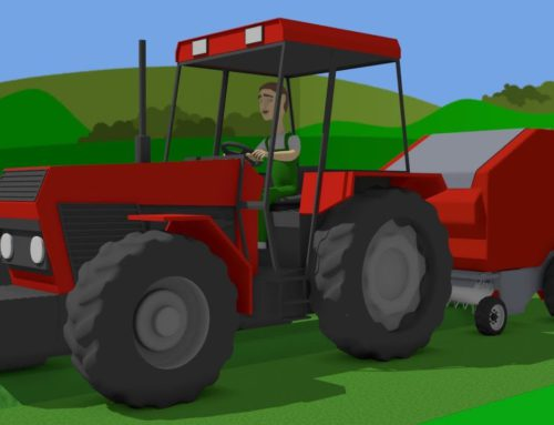 #Tractor A fairy tale for Kids about agricultural vehicles – Farm Work – mows the grass | Traktor
