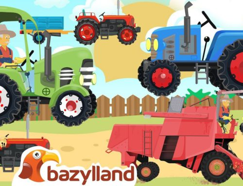 Farmers and Farm Work + More Vehicles and Agricultural Machinery – Bazylland