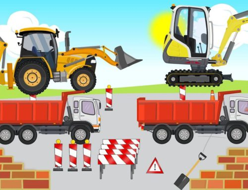 #Excavator & mini Excavators and Trucks – Street Vehicles and many other Machines – Compilation