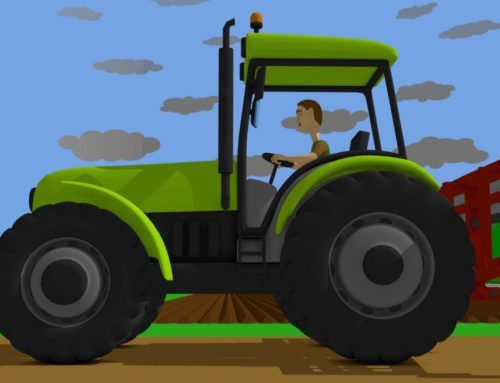 Cartoons about Tractors and Agricultural Machinery for Kids – Agricultural Machinery Exhibition .