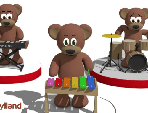 Singing Teddy Bears – Children's alphabet song | Video for Kids and Babies