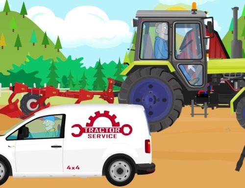 #Tractor and failure – Machine Service for Kids | Traktor i awaria