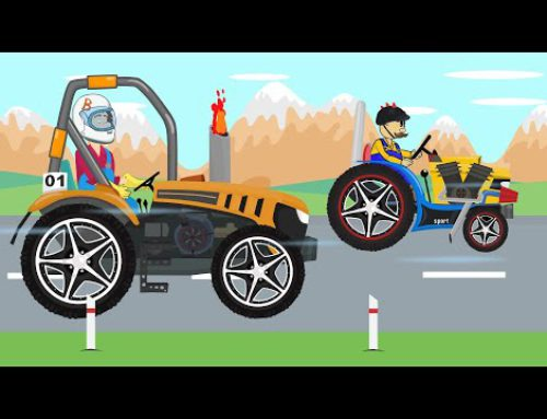 Tractor Tuning and Farmers Race – Children's Tales | Bajki Traktor i Rolnicy