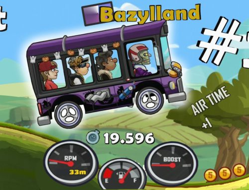 We play in Hill Climb Racing 2 – Gameplay and Truck Ride #2 – Android