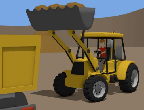 Backhoe Loader and #Truck | Street Vehicles for Baby & Kids | Maszyny Budowlane dla Dzieci