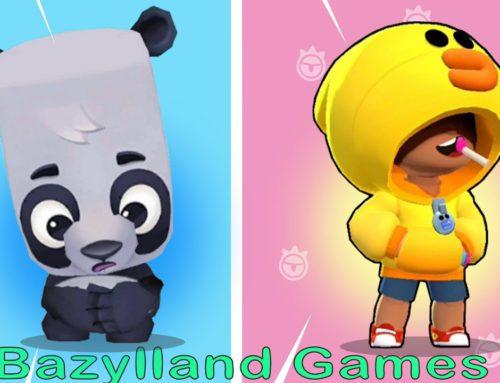 OLLIE Zooba vs LEON Brawl Stars – Bazylland Games
