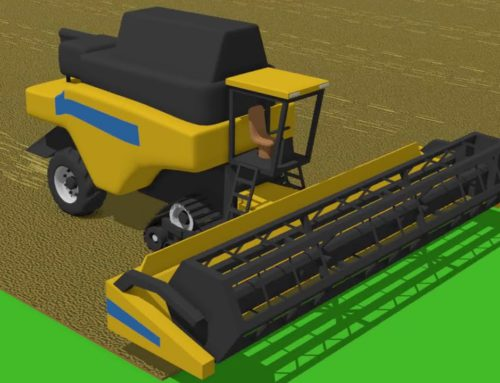TRACTOR & COMBINE-HARVESTER – Agricultural and construction vehicles in fairy tales for children