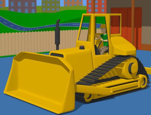 Excavators, Tractors, Construction Vehicles and Working People | Compilation of fairy tales for Kids