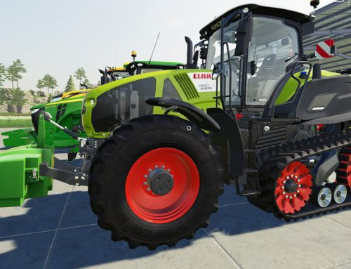 Traktor Tractor on tracks and a Croesus who is not afraid to get dirty   Farmer and Sports Cars LS19