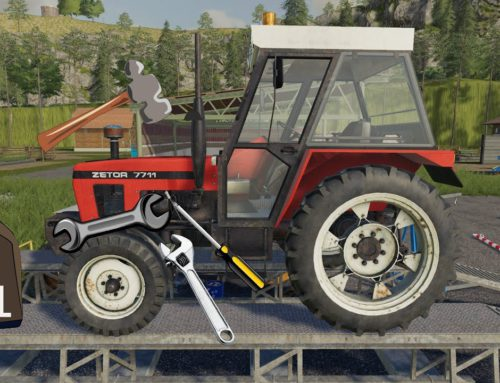 Tractor in the Workshop With Oil Change – Plowing, Sowing and Mowing Wheat | Farmer simulation ls19