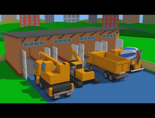 Construction vehicles garage – bridge collapsed under the weight of the combine | Tractors & More