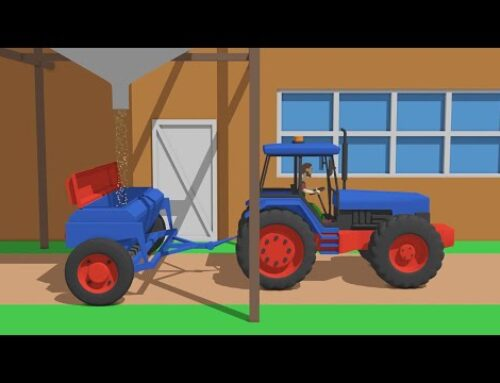 Animated fairy tale about tractors for Kids – Tractors and Agricultural Vehicles | Tractors the best