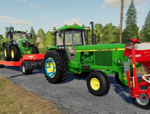 We're going shopping – John Deere on Tow Truck | Farm with variety of Tractors and Corn Planting