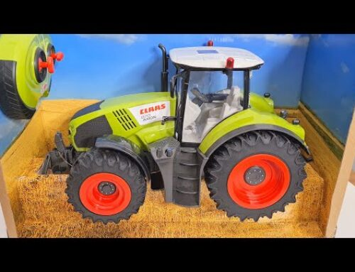 Pilot controlled tractor Model 1:16 and tractor from Farming 19 / Unboxing – Bazylland Traktory